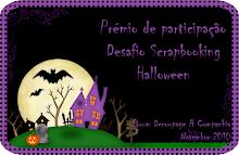 Desafio de Scrapbooking de Halloween