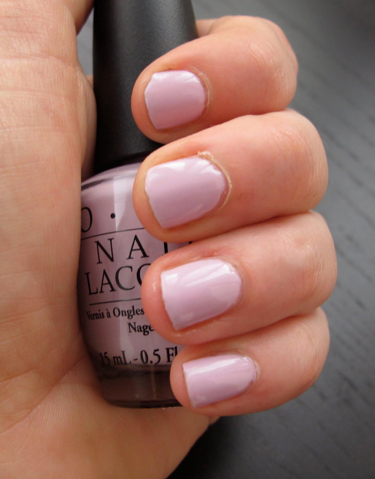Jolie Laide Girl: Nails of the Week: Opi Panda-monium Pink