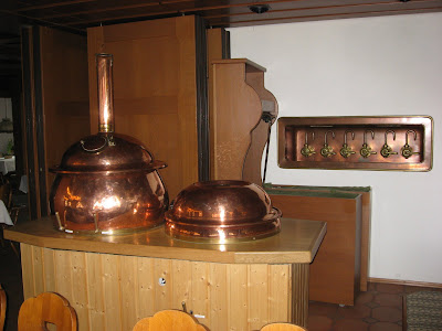 The 50-liter brewhouse at Schwanen