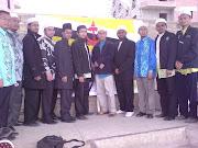 Bersama Presiden Persatuan Brunei di Mesir