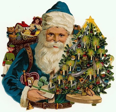 Vintage Victorian Imagens E Cartes Postais Vintage Santa