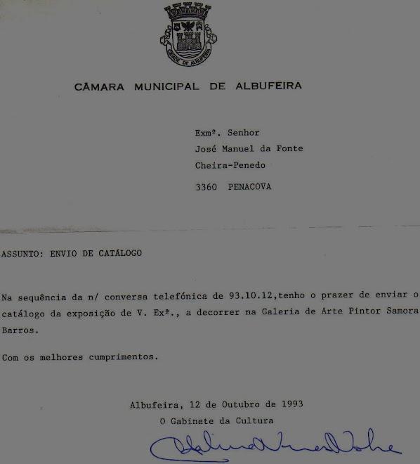 1993  CORRESPONDÊNCIA TROCADA