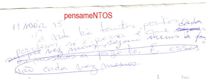 1995  PENSAMENTOS