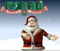 Norad Santa Tracking on Google Earth 2011
