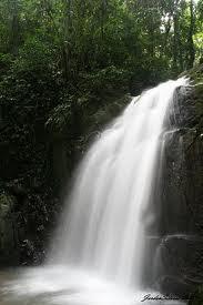 Kionsom Waterfall Inanam and Kampung Kionsom Baru Tamparuli