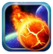 Zlider Puzzle controla el meteorito iphone ipod touch
