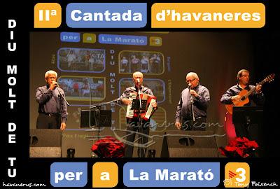 Grup Bergantí a la Cantada d'Havaneres per a La Marató