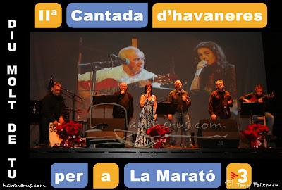 Cubacant i L'empordanet a la Cantada d'Havaneres per a La Marató