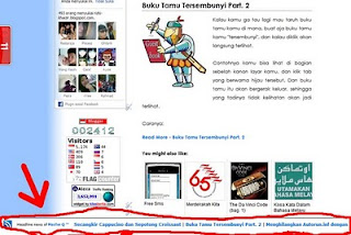 Cara Membuat News Ticker Di Blog