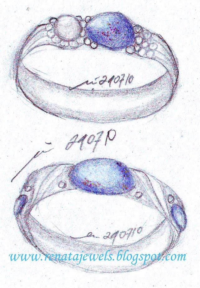 The Art Of Wedding Rings part 1 Boulder Opal Blue round cut