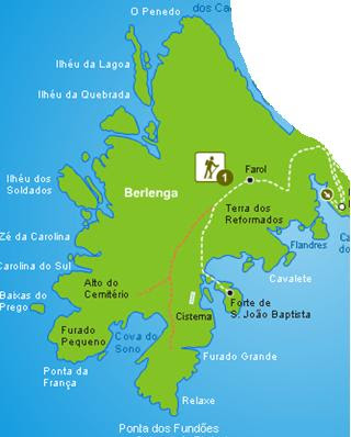 Trilho da Berlenga (Berlengas - Peniche)