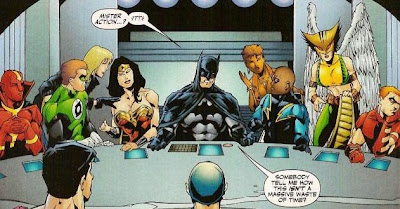 de Vinci Last supper Batman