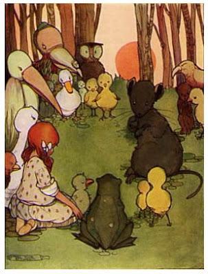 Alice in Wonderland, La course au Caucus, dodo, Mabel Lucie Attwell