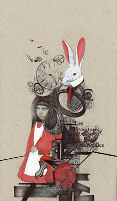 Alice White rabbit Lucie Laroche