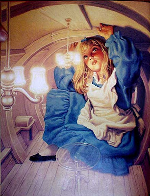 Alice in Wonderland, Greg Hildebrandt