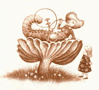 Alice in Wonderland, chenille, Vladislav Erko