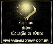 Premio Blog Coração de Ouro