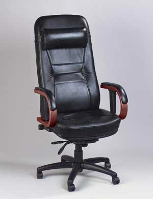 Executive Leather Chairs: Executive Leather Office Chair - Check