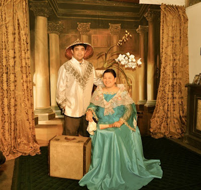 Site Blogspot  Modest Dresses on Mia Was Lovely In Her 19th Century Filipiniana Dress Matched With