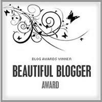 Award: Beautiful Blogger