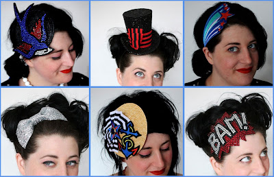 As headbands maravilhosas de Janine Basil.