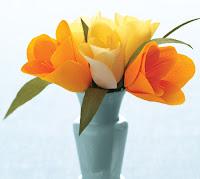 crafty brides crepe paper flowers tulip