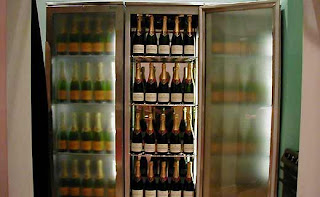Wine Fine Absolutely Fabulous Champagne Refrigerator