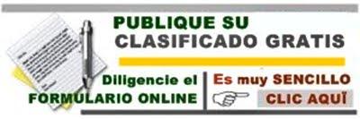 PUBLICAR CLASIFICADOS DE BUGALAGRANDE