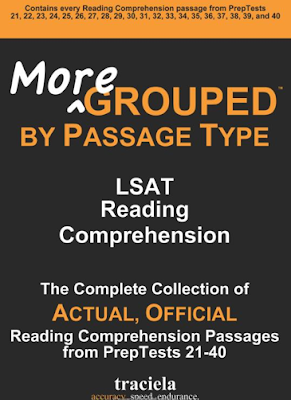 LSAT Blog Reading Comprehension Passages Grouped Book