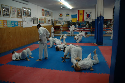 Concentraci n de jiu jitsu gimnasio lee las palmas for Gimnasio lee