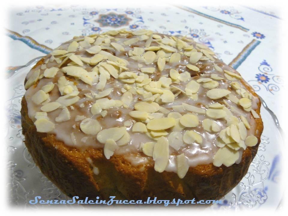 Senza sale in zucca torta glassata alla panna e frutta secca - Glasse a specchio alla frutta ...