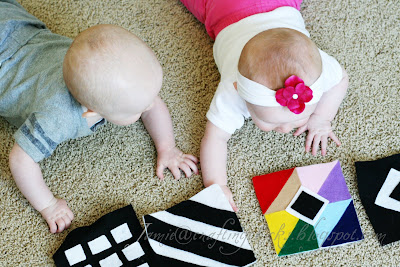 Playtime Felt Squares for Baby