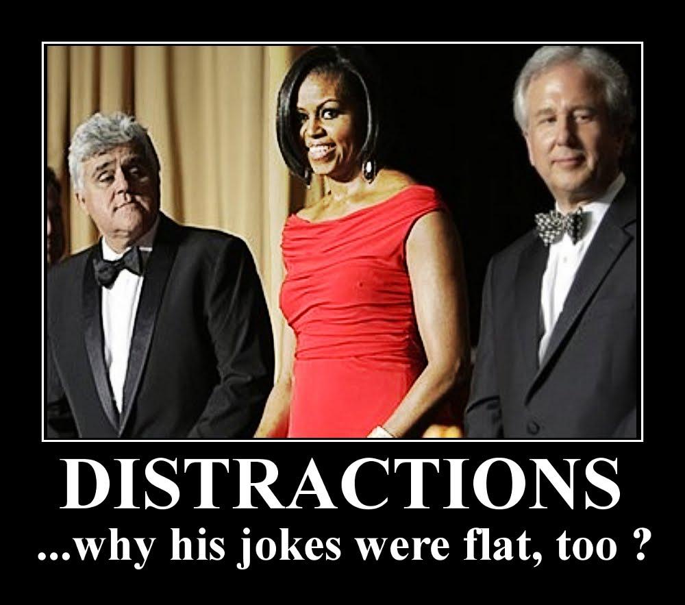 Obama Jokes While obama cracked jokes