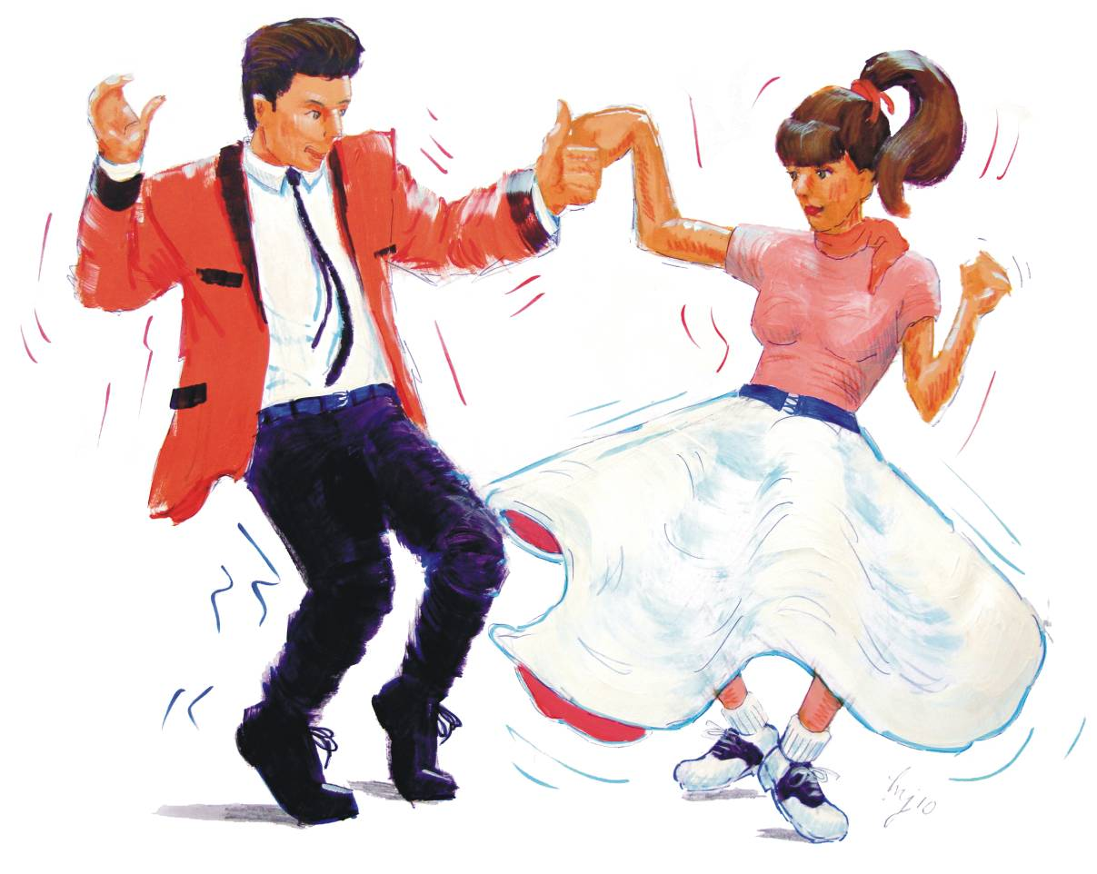 Image result for 1950's dance