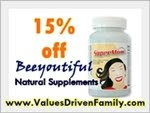 Values-Driven offers 15% off Beeyoutiful everyday!
