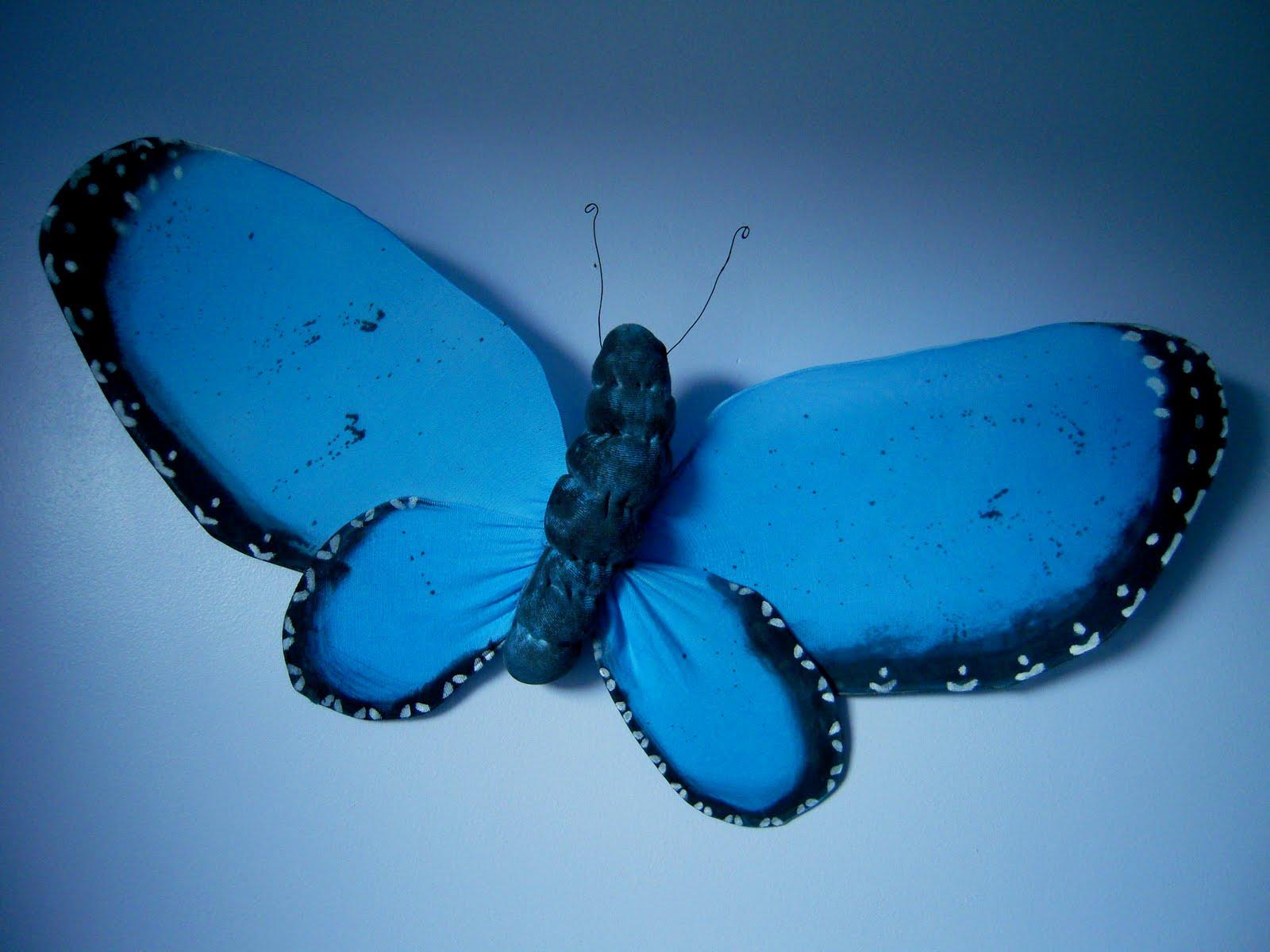 marvelously messy blue morpho butterfly craft