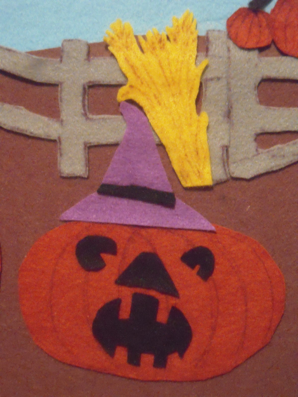 Marvelously Messy : Fall Felt Board Craft