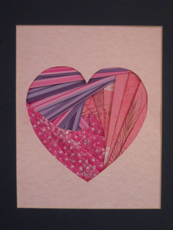 Marvelously Messy : Iris Folding Valentine