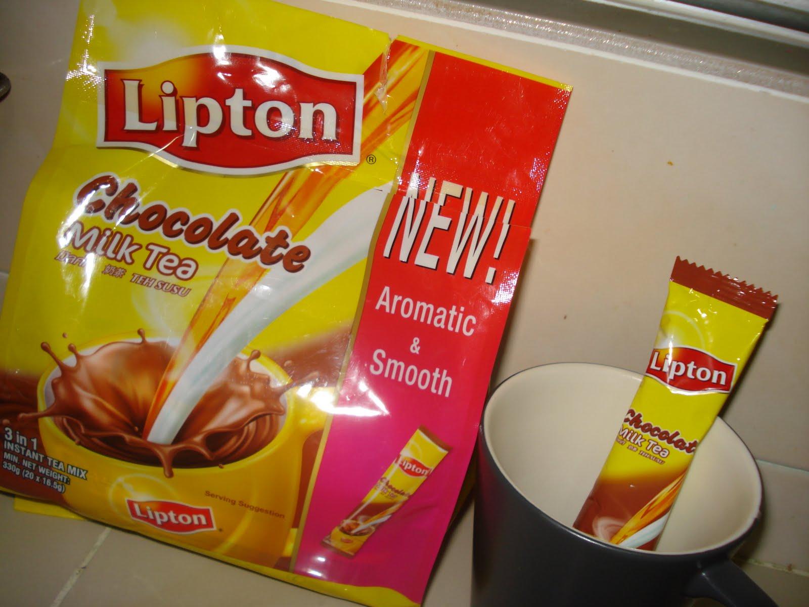 how to make lipton tea with milk