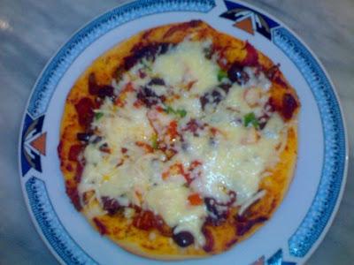 5 بيتزا بالخضر بالصور