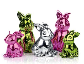 Seda France Menagerie colleciton candles, Living and Giving, Easter decorations