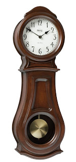 Ridgeway Clocks, Zeeland, Mich., introduced the Sasha clock, in wall and floor styles, at the 2009 spring High Point furniture market.