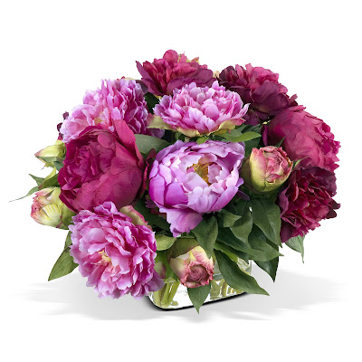 New Growth Designs of Greenville, North Carolina, offers many styles of permanent floral bouquets