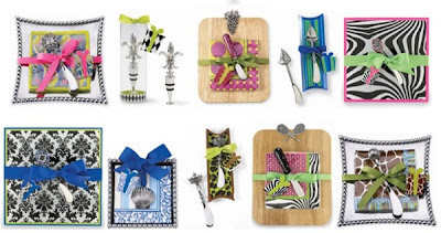 The Merci collection of hostess gifts from Mud Pie.