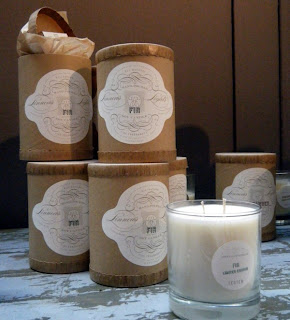 Linnea's Lights are handmade soy candles. In October, the firm donates a portion of the sales of one line to the Susan G. Komen for the Cure.