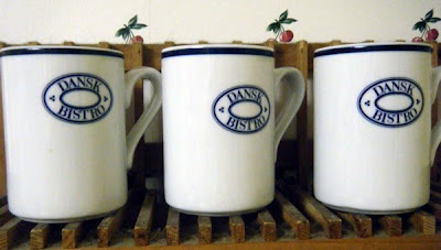Dansk bistro coffee mugs