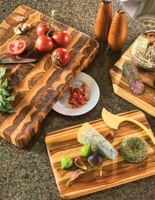 Proteak teak cutting board Gift & Home Today