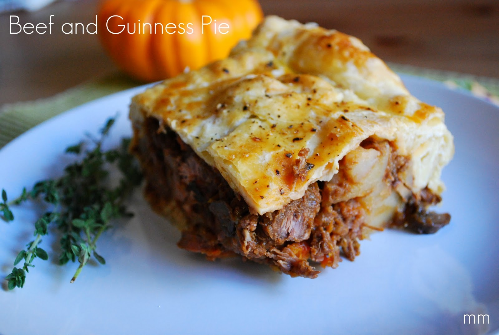 MirandaMade: Comfort Food: Beef and Guinness Pie