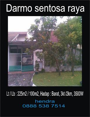 Jual Beli Sewa property anda: rumah dijual ( surabaya barat ) Darmo