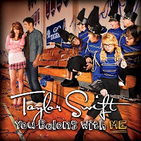 Videografía de Taylor Swift. Taylor+Swift+-+You+Belong+With+Me+(Official+Single+Cover)
